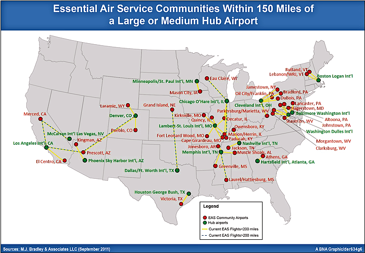 The US Airport Network Airports In US Mapusapng Analysis Of Air