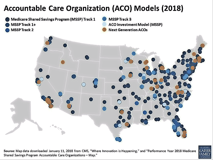 Accountable Care Organization Models (2018)