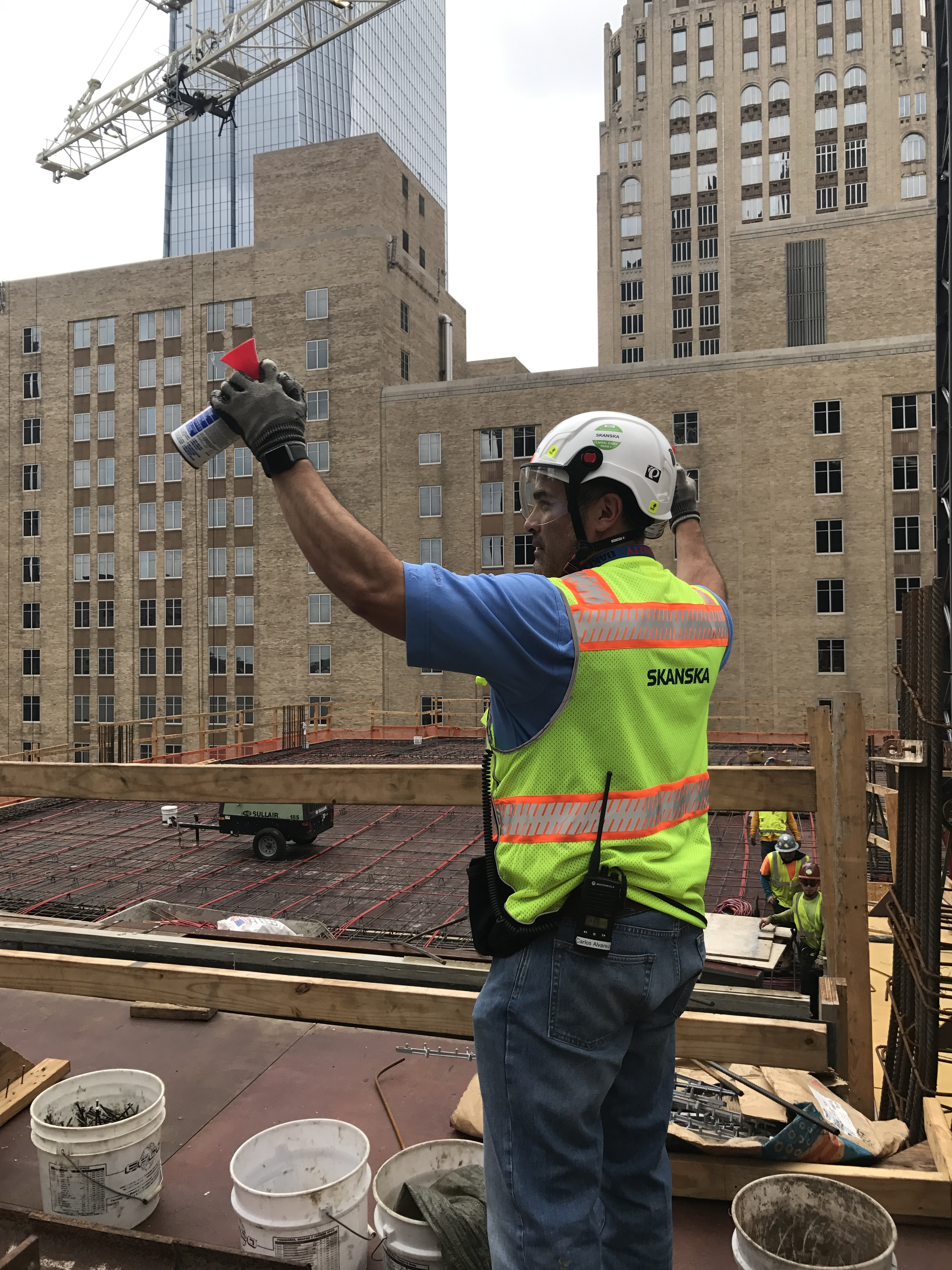 Safety Helmets Are Replacing Hard Hats On Construction Sites Pine Bush Equipment Co Inc